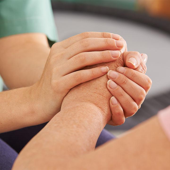 精神的な支えとなる看護